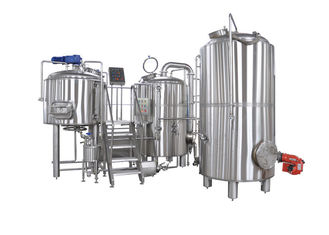 7BBL 2 Vessel Brewhouse Heated By Steam For Beer Brewing Process