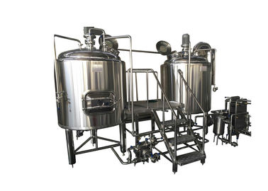 300L Stainless Steel Small Brewing Equipment Beer Fermentation Cooling Jacket