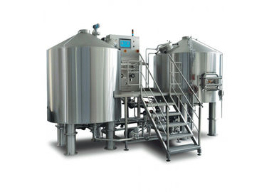Micro Brewing Systems 600L Small Microbrewery Equipment With Steam Heating