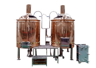 ISO / CE 7BBL Pub Brewing Systems Mirror Polish TIG Welded Joints Fabrication